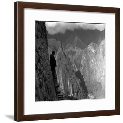Andes View-Pet-Framed Photographic Print