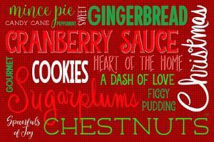 Christmas Kitchen Typography by Andi Metz