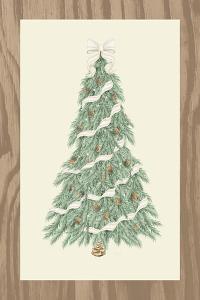 Hometown Christmas on Wood I by Andi Metz