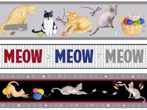Meow, Meow, Meow Pattern by Andi Metz