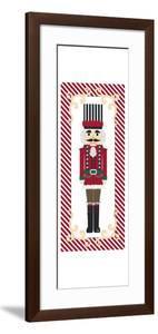 Nutcracker On Red Stripe III by Andi Metz