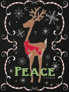 Peace on Earth Deer by Andi Metz
