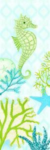 Seahorse Reef Panel I by Andi Metz