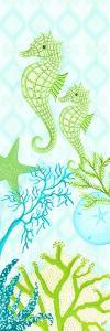 Seahorse Reef Panel II by Andi Metz