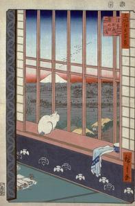 Asakusa Ricefields and Torinomachi Festival by Ando Hiroshige