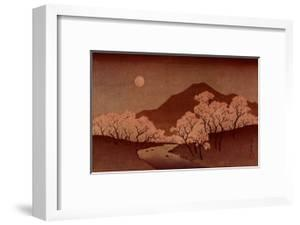 Cherry Blossoms by Ando Hiroshige