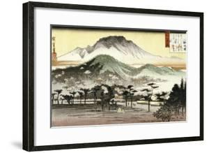 Evening Bell at Mii Temple by Ando Hiroshige