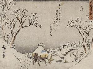 Fujikawa by Ando Hiroshige