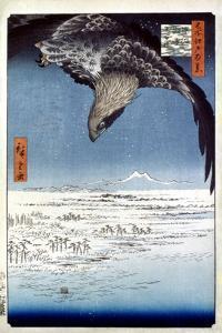 Hiroshige: Edo/Eagle, 1857 by Ando Hiroshige