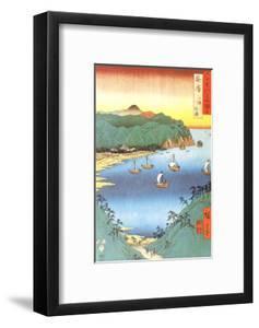 Inlet at Awa Province by Ando Hiroshige