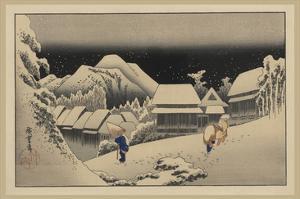 Kanbara by Ando Hiroshige