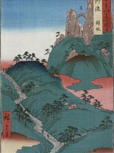 Kanesaka of Tanba by Ando Hiroshige