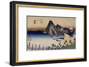 Maisaka, vue d'Imagiri by Ando Hiroshige