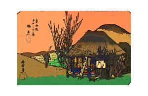 Mariko: a Roadside Tavern by Ando Hiroshige