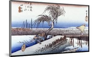 Mie River Near Yokkaichi by Ando Hiroshige