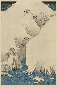 Mountains and Rivers on the Kiso Road (Kisoji No Sansen) No.2 by Ando Hiroshige