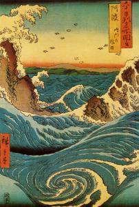 Navaro Rapids, c.1855 by Ando Hiroshige