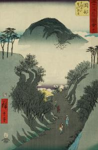 Okabe, from the Fifty-Three Station of the Tokaido Road by Ando Hiroshige