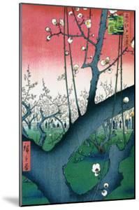 Plum Estate Kameido by Ando Hiroshige