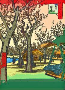 Plum Garden at Kamata by Ando Hiroshige