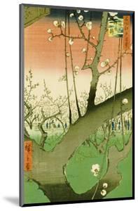 Plum Garden, Kameido by Ando Hiroshige
