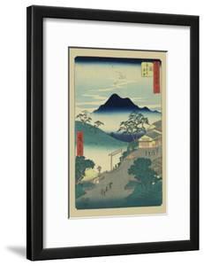 Seki by Ando Hiroshige