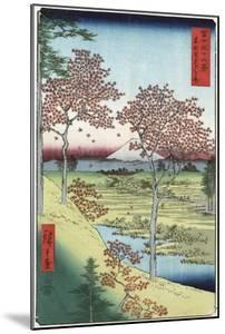 Sunset Hill, Meguro in the Eastern Capital by Ando Hiroshige