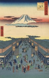 Suruga-cho by Ando Hiroshige