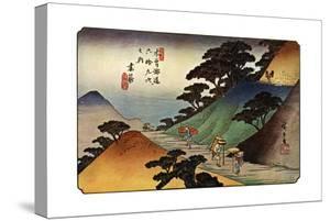 Tsumagome, 1830S by Ando Hiroshige