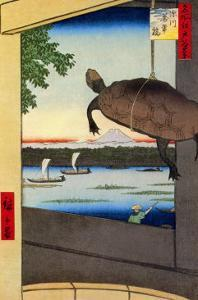 Turtle by Ando Hiroshige