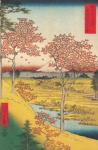 Twilight Hill at Meguro by Ando Hiroshige