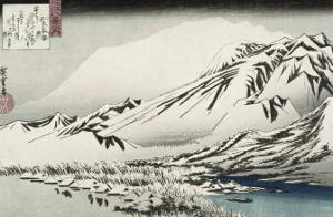Unknown (Landscape) by Ando Hiroshige