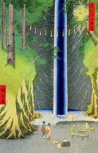 Waterfall by Ando Hiroshige