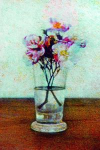 Flower Vase by Andr? Burian