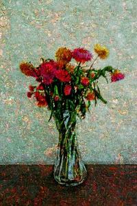 Flowers by Andr? Burian