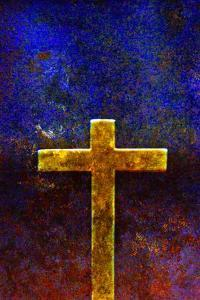 Gold Cross by Andr? Burian