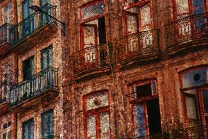 Old Building in Porto, Portugal by Andr? Burian