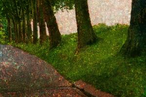 Way and Trees by Andr? Burian
