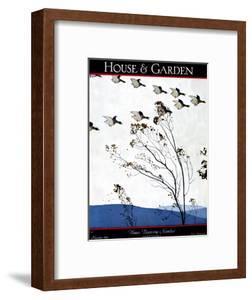 House & Garden Cover - November 1925 by Andr? E. Marty