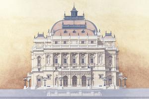 Budapest Opera House by Andras Kaldor