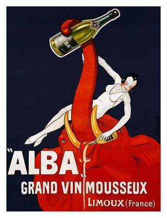 Alba Grand Vin Mousseux, ca. 1928