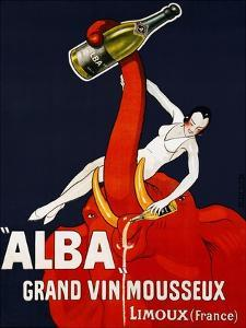 Alba Grand Vin Mousseux, ca. 1928 by Andre