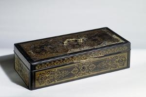 Louis XIV Style Wooden Box by Andre-charles Boulle