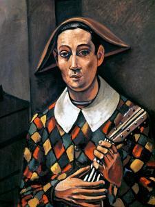 Derain: Harlequin, 1919 by Andre Derain