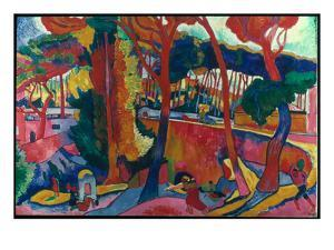 Derain: L'Estaque, by Andre Derain