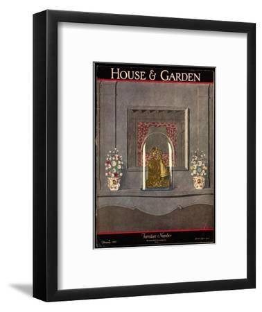 House & Garden Cover - February 1927