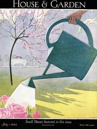 House & Garden Cover - July 1925