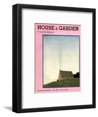 House & Garden Cover - July 1931