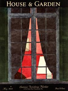 House & Garden Cover - May 1930 by André E. Marty