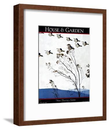 House & Garden Cover - November 1925